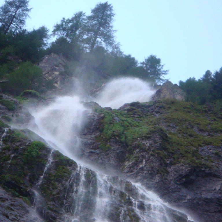Der Wasserfall im Winklertal